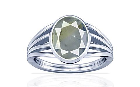 Pitambari Neelam Sterling Silver Ring (A7)
