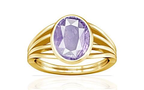 Purple Sapphire Gold Ring (A7)