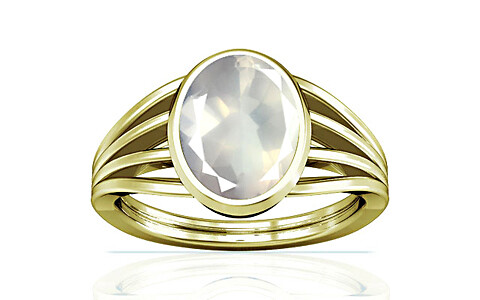 Rose Quartz Panchdhatu Ring (A7)