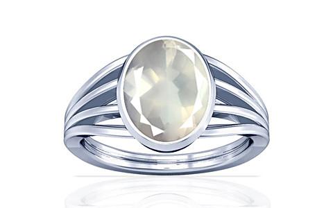 Rose Quartz Sterling Silver Ring (A7)