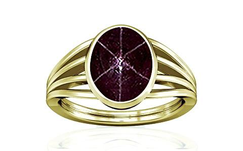 Star Ruby Panchdhatu Ring (A7)