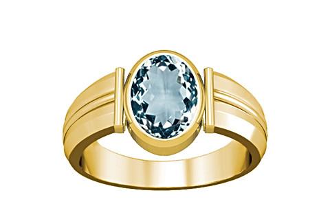Aquamarine Gold Ring (A9)
