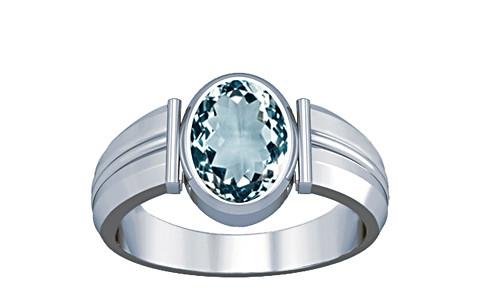 Aquamarine Silver Ring (A9)