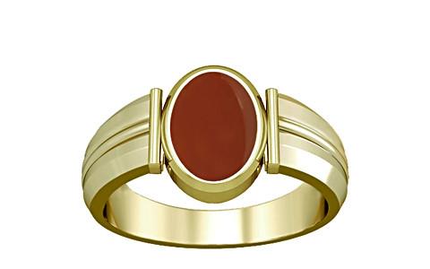 Carnelian Panchdhatu Ring (A9)
