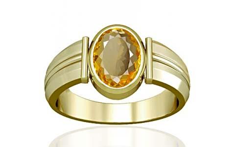 Citrine Panchdhatu Ring (A9)