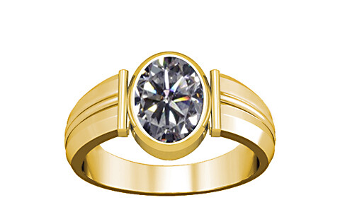 Cubic Zirconia Gold Ring (A9)