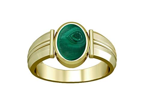 Malachite Panchdhatu Ring (A9)