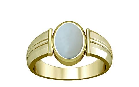 Moonstone Panchdhatu Ring (A9)