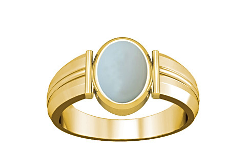 Moonstone Gold Ring (A9)