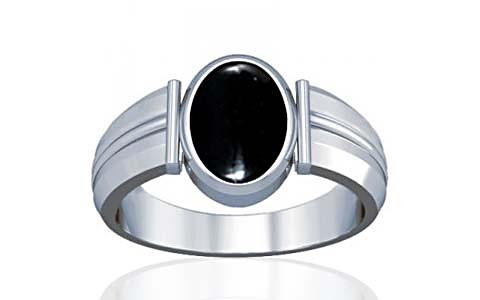 Black Onyx Silver Ring (A9)