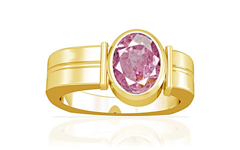 Pink Sapphire Gold Ring (A9)