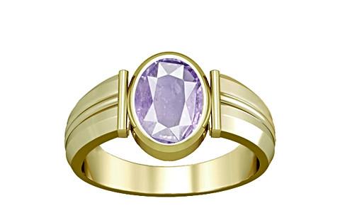 Purple Sapphire Panchdhatu Ring (A9)