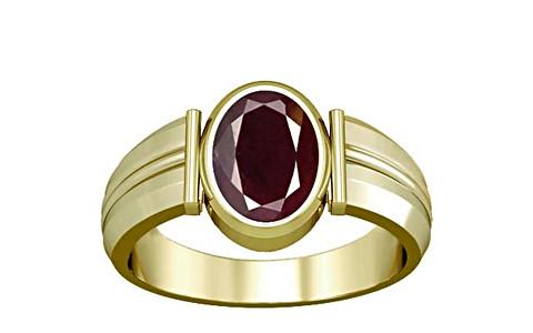 Indian Ruby Panchdhatu Ring (A9)