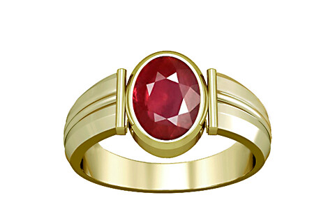 Ruby Panchdhatu Ring (A9)