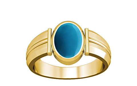 Turquoise Gold Ring (A9)