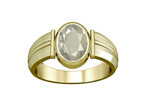 White Sapphire Panchdhatu Ring (A9)