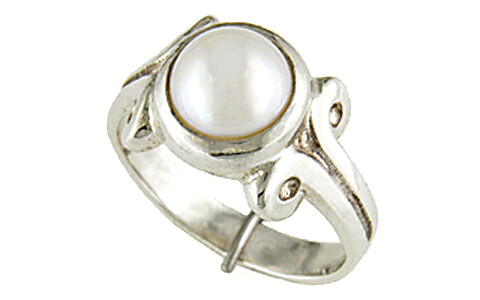 Pearl Silver Ring (AP7)