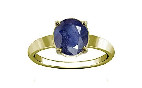 Blue Sapphire (Thailand) Panchdhatu Ring (A18)