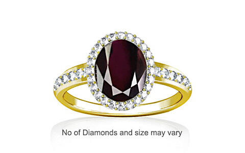 Garnet Panchdhatu Ring (R1-Dazzle)