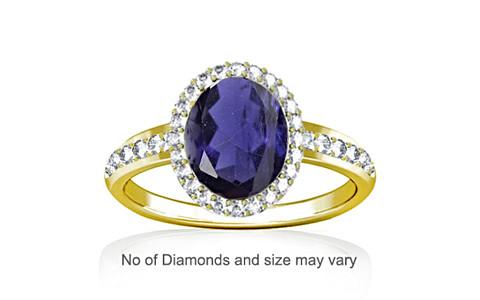 Iolite Panchdhatu Ring (R1-Dazzle)