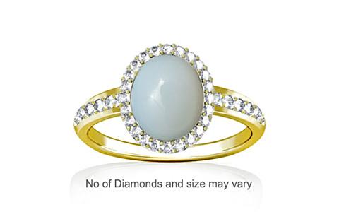 Moonstone Panchdhatu Ring (R1-Dazzle)