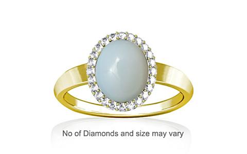 Moonstone Panchdhatu Ring (R1-Sparkle)