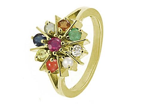 Navratna Panchdhatu Ring (N1)