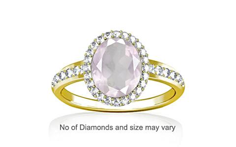 Pink Sapphire Panchdhatu Ring (R1-Dazzle)