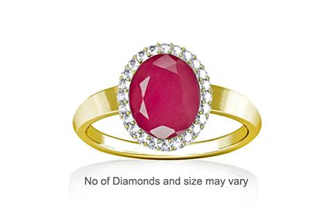 Pink Sapphire Panchdhatu Ring (R1-Sparkle)