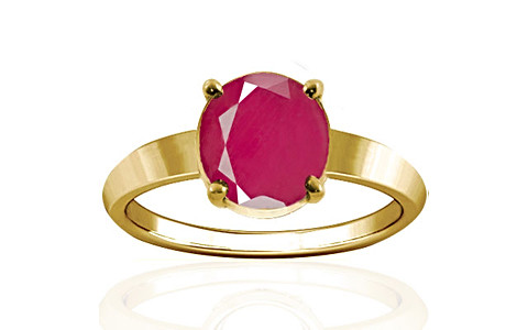 Pink Sapphire Gold Ring (A18)