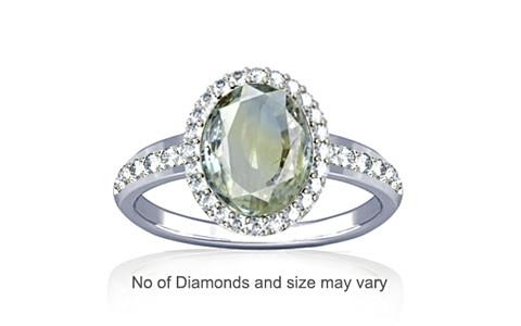 Pitambari Neelam Sterling Silver Ring (R1-Dazzle)