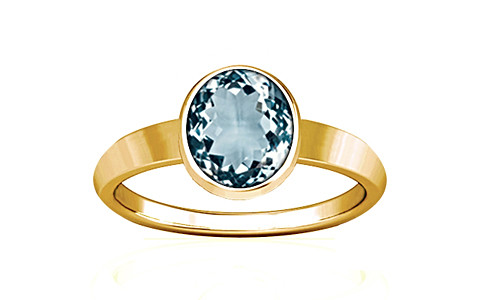 Aquamarine Gold Ring (R1)