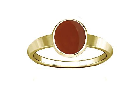 Carnelian Gold Ring (R1)