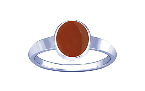 Carnelian Sterling Silver Ring (R1)