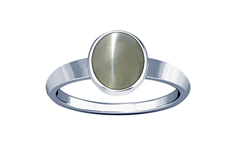 Chrysoberyl Cats Eye Sterling Silver Ring (R1)