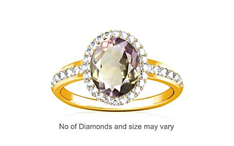 Ametrine Gold Ring (R1-Dazzle)