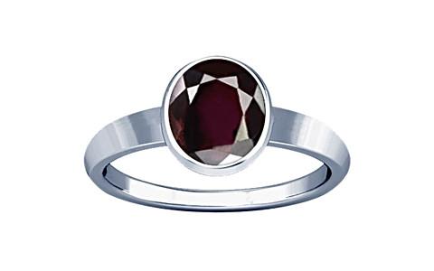 Garnet Sterling Silver Ring (R1)