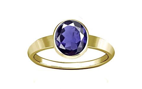 Iolite Panchdhatu Ring (R1)