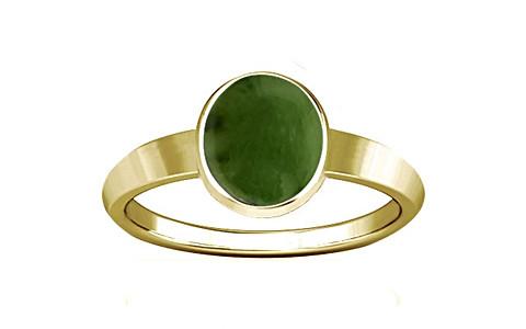 Nephrite Jade Panchdhatu Ring (R1)