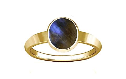 Labradorite Gold Ring (R1)
