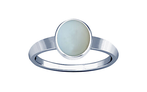 Moonstone Sterling Silver Ring (R1)
