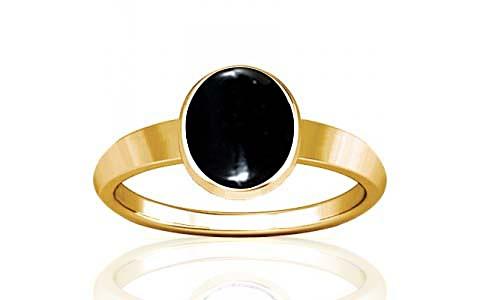 Black Onyx Gold Ring (R1)