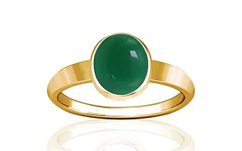 Green Onyx Gold Ring (R1)