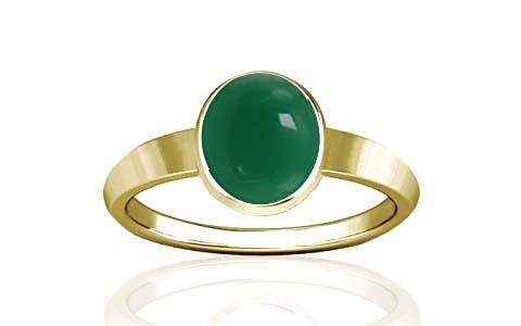 Green Onyx Panchdhatu Ring (R1)