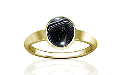 Striped Onyx Panchdhatu Ring (R1)