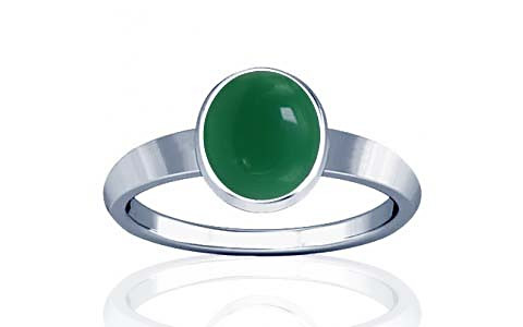 Green Onyx Sterling Silver Ring (R1)