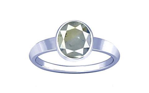 Pitambari Neelam Sterling Silver Ring (R1)