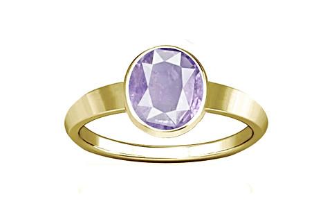 Purple Sapphire Gold Ring (R1)