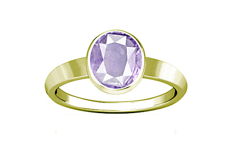 Purple Sapphire Panchdhatu Ring (R1)