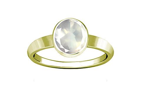 Rose Quartz Panchdhatu Ring (R1)